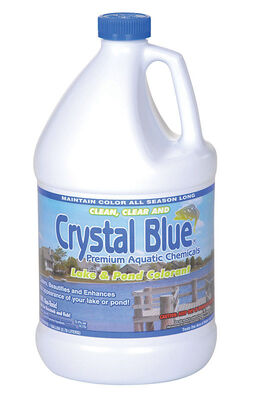 Crystal Blue Pond Colorant Lake and Pond Colorant 6 in. W x 12 in. L