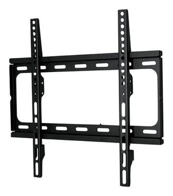 Home Plus 26 in. 50 in. 66 lb. Super Thin Fixed TV Wall Mount 1