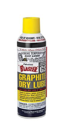 Blaster Graphite Dry Lube Spray General Purpose 5.5 oz. Aerosol