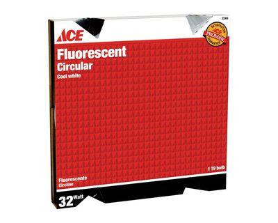 Ace Fluorescent Bulb 32 watts Circular T9 Cool White