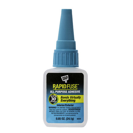 DAP RapidFuse High Strength Glue All Purpose Adhesive 0.85 oz.
