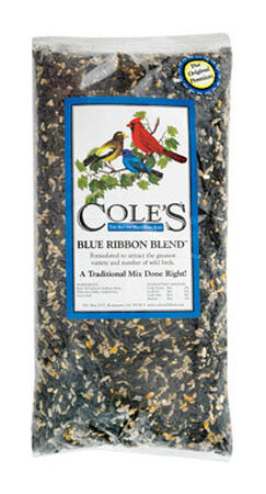 Cole's Blue Ribbon Blend Assorted Species Wild Bird Food Sunflower Seeds 20 lb.