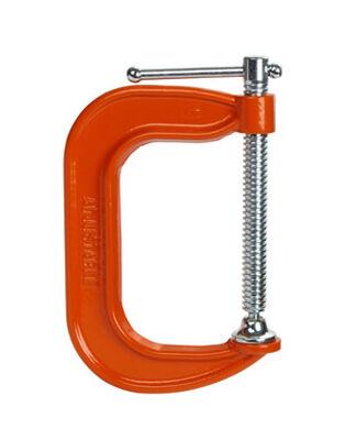Bessey Steel Adjustable C-Clamp 4 in. x 3 in. D