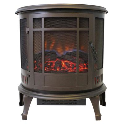 Claremont Bronze Electric Stove with 180 Degree Viewing