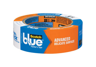Scotch 1.41 in. W x 60 yd. L Delicate Surface Painter's Tape Low to Medium Strength Blue 1 pk