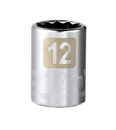Craftsman 12 Alloy Steel Standard 3/8 in. Drive in. drive Socket