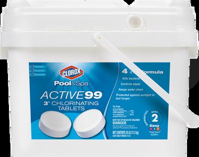 """Clorox Active99 3""""Chlorinating"""