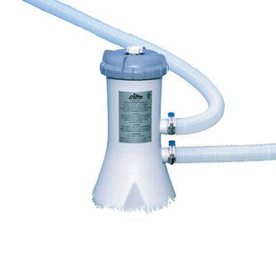 Intex Above Ground Filter Pump 530 gal. 14.1 in. H x 10-9/16 in. L x 9-7/8 in. W