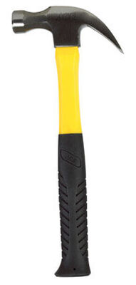 Ace 16 oz. Round Face Fiberglass Claw Hammer Steel
