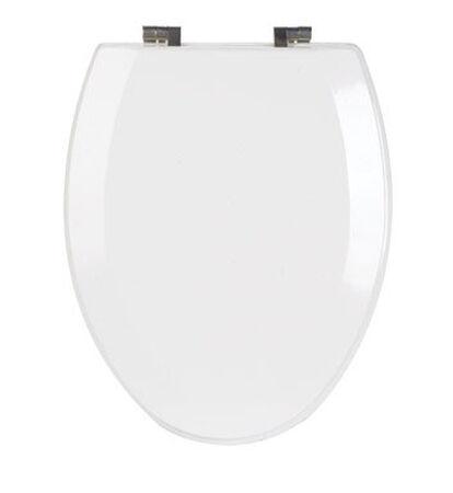 Mayfair Wood Toilet Seat Elongated White
