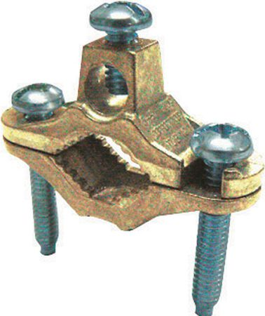 Sigma 1/2 in. Bronze Ground Rod Clamp 1