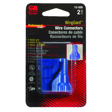 Wingguard Industrial Wire Connector 2 Thermoplastic Blue