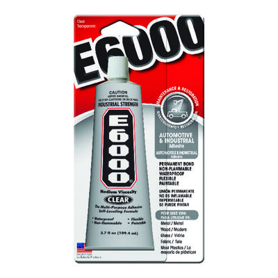 E-6000 Automotive and Industrial Adhesive 3.7 oz.