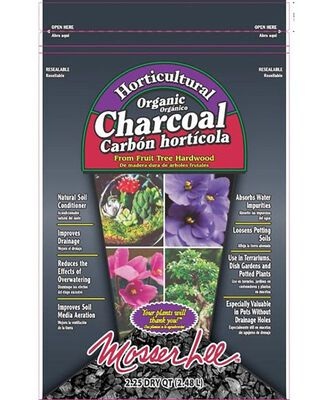 Mosser Lee Black Organic Charcoal Soil Conditioner 2.25 quart dry