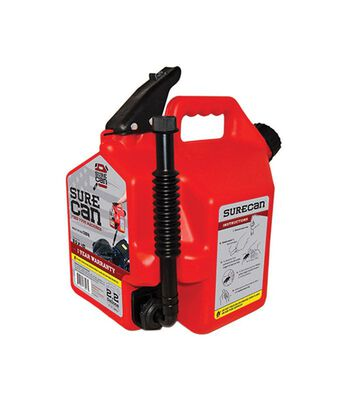 SureCan Plastic Gas Can 2.2 gal.