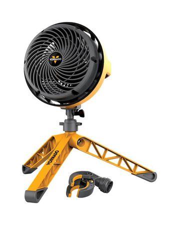 Vornado Air Circulator 3 speed Electric 3 blade Yellow