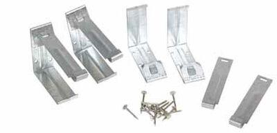 Amerimax 5 L x 5 in. W x 5 in. H Galvanized Steel K Fascia Bracket Metallic