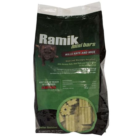 Ramik Rodent Bait For Rats and Mice 64 pk