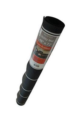 Flexgard Black Rubber Nonslip Crumb Rubber Floor Mat