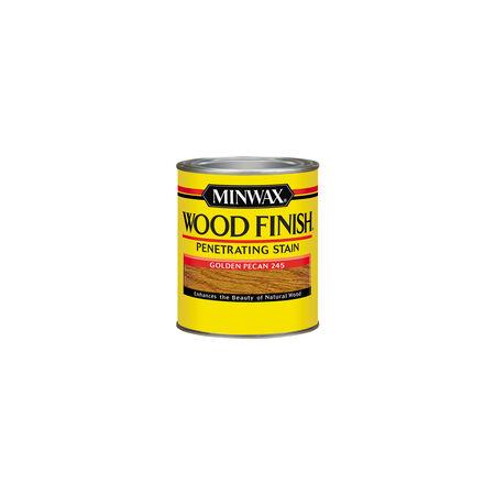Minwax Wood Finish Semi-Transparent Golden Pecan Oil-Based Wood Stain 1/2 pt.