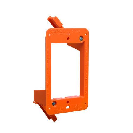 Carlon Low Voltage Mounting Bracket Orange Plastic