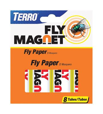 Terro Fly Magnet Fly Paper 8 pk