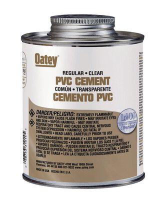 Oatey Clear PVC Cement 16 oz.