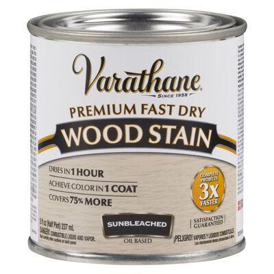Varathane Premium Fast dry Semi-Transparent Oil-Based Wood Stain Sunbleached .5 pt.
