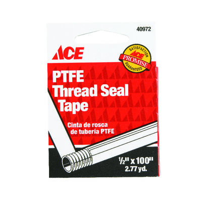 Ace 1/2 in. W x 100 in. L Thread Seal Tape