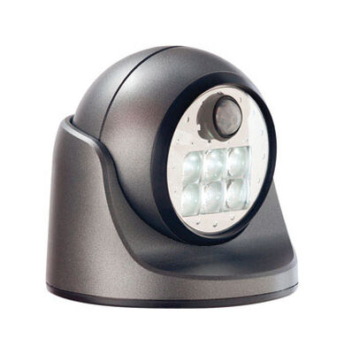 Fulcrum LIGHT IT Charcoal LED Outdoor Sensor Light