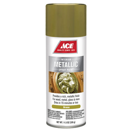 Ace Brilliant Brass Spray Paint 11.5 oz.