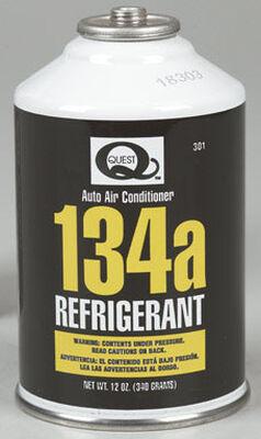 Quest 12 oz. R134A Air Conditioner Refrigerant