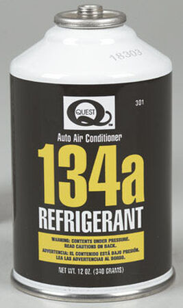 Quest 12 oz. R134A Air Conditioner Refrigerant