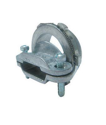 Gampak Sigma Non-metallic Cable Connector Silver 1-1/2 in. Dia. 1