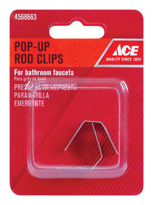 Ace Pop-Up Rod Clips Chrome