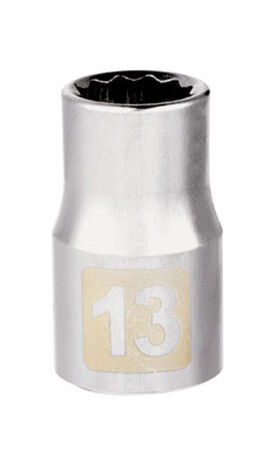 Craftsman 13 Alloy Steel 1/2 in. Drive in. drive Socket Standard