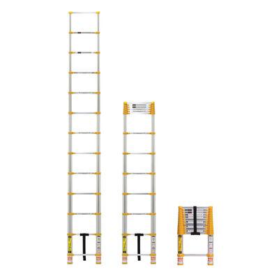 Xtend & Climb Aluminum 12.5 ft. H Extension Ladder 225 lb. Type II