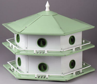 Heath 20.5 in. H Aluminum Bird House
