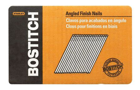 "3,655-Qty. 1-3/4"" 15-Gauge ""FN"" Style Angled Finish Nails"