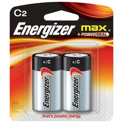 Energizer Max C Alkaline Batteries 1.5 volts 2 pk