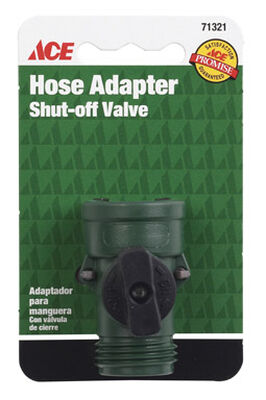 Ace Plastic Hose Shut-off Valve Male Threaded
