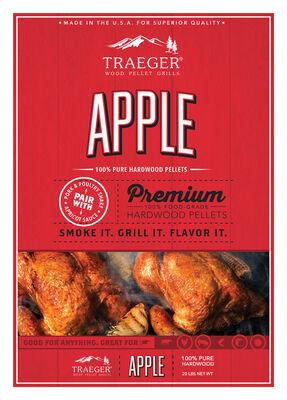 Traeger Apple Wood Pellets 20 lb.