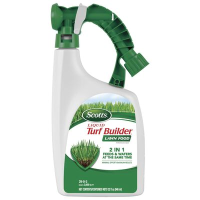 Scotts Turf Builder Lawn Food 2000 sq. ft. Liquid 29-0-3