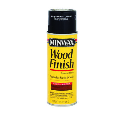 Minwax Wood Finish Transparent Oil-Based Spray Stain Dark Walnut 11.5 oz.