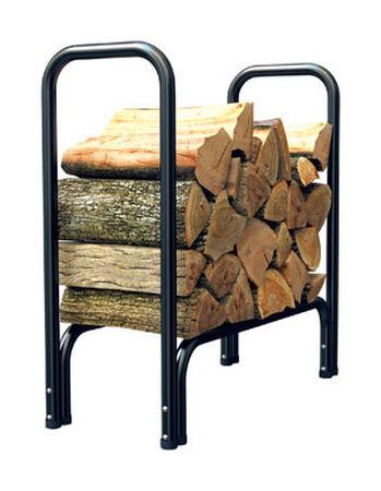 Panacea Powder Coated Steel Log Rack Indoor and Outdoor