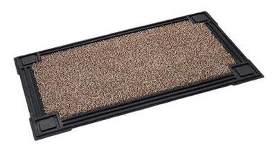 Form & Function Black Astroturf Nonslip Doormat 30 in. L x 18 in. W