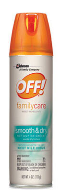 OFF! Insect Repellent DEET 15% Aerosol 4 oz.