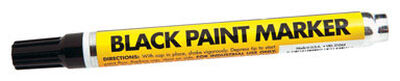 Forney Permanent Paint Marker Black