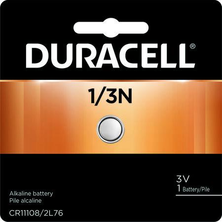 Duracell 1/3N Lithium Camera Battery 3 volts 1 pk