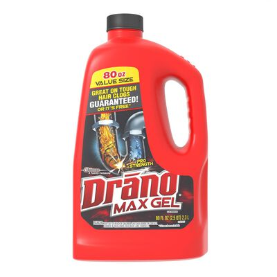 Drano Professional Strength Max Gel Clog Remover 80 oz.